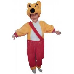Costume Carnevale Bambino Orsetto di Pelouche