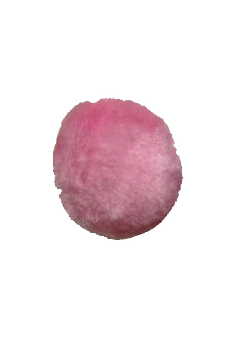 Coda coniglio rosa