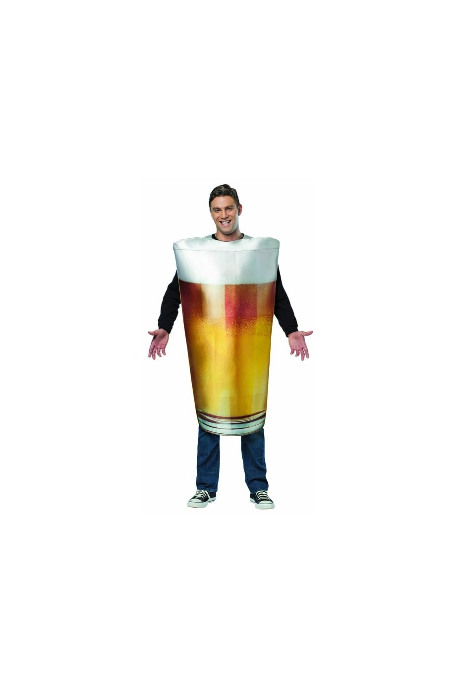 Costume bicchiere o pinta di birra
