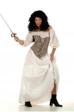 Costume spadaccina, gitana, zingara, piratessa Desdemona