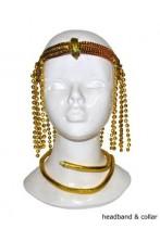 Set egiziano copricapo e serpente