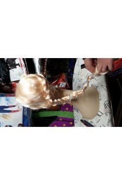 Parrucca donna bionda lunga Mossa Con Frangia