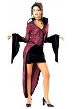 costume donna vampira SOLO GIACCA. Attenzione i bottoni sono simili ma color bronzo con stemma