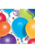 Palloncini stelle party tovaglioli di carta colorati 33x33cm
