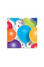 Palloncini stelle party tovaglioli di carta colorati 25x25cm 20pz