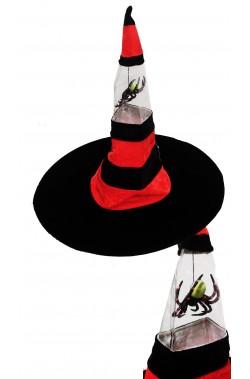 Cappello strega con punta a molla