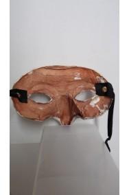 Maschera Zanni Parnassus in cuoio realizzata a mano