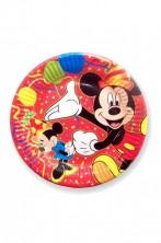 Piatti Party carta Topolino Disney (10 piatti, 22,5cm)