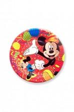 Piatti Party carta Topolino Disney (10 piatti, 19,5cm)