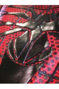 Costume Spiderman replica come quello del film. In Spandex 3D e lenti in Mylar