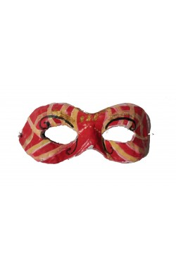 Maschera di Viareggio artigianale in cartapesta