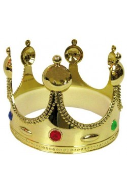 Corona regina oro cm 55,5x12,5