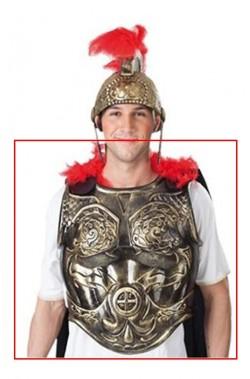 Costume uomo antico romano porpora