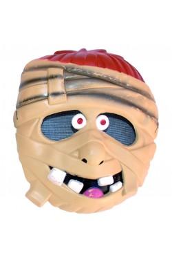 Maschera Halloween bambino in PVC mummia