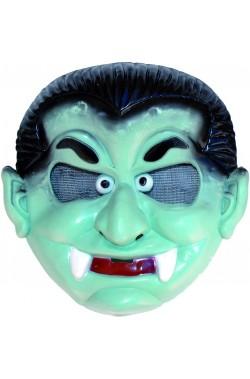 Maschera Halloween bambino in PVC Dracula