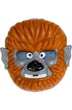 Maschera Halloween bambino in PVC uomo lupo