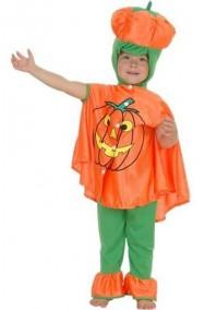 Costume bambino Zucca Halloween Jack O'Lantern