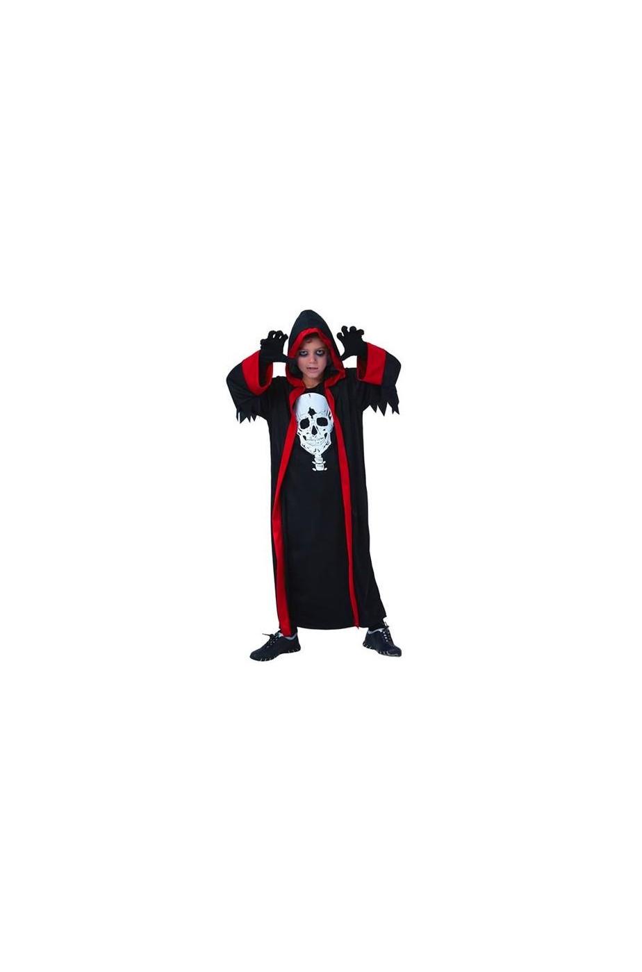 Tunica Halloween Bambino con cappuccio