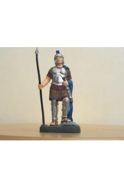 Figurina Presepe in plastica (cm 10 Soldato legionario romano con lancia