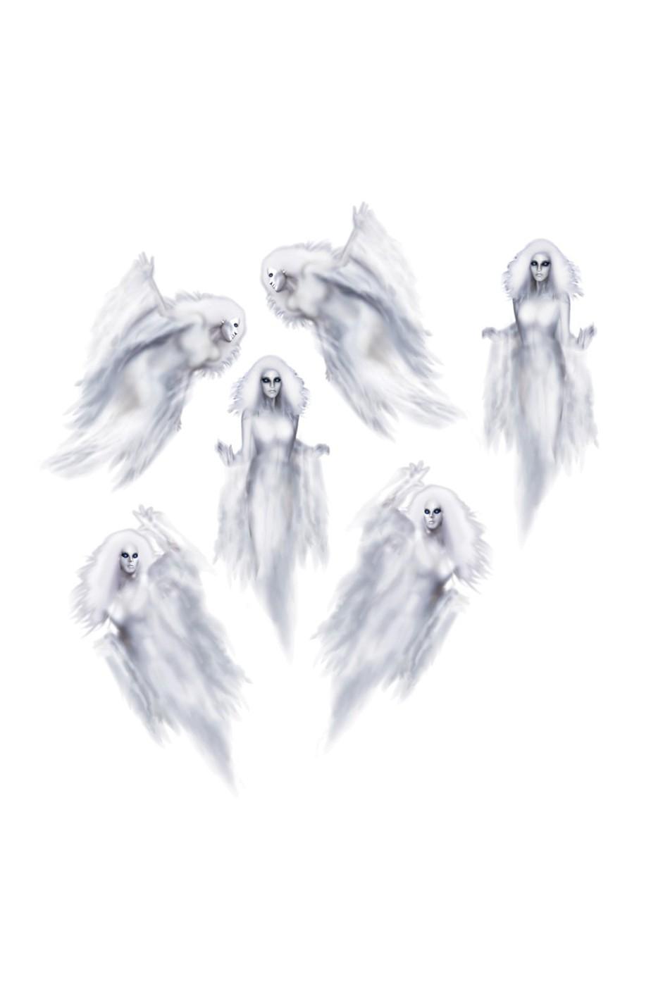 Allestimento Halloween Fantasmi ectoplasmi