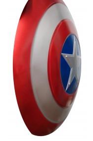 Scudo Capitan America Adulto dimensione reale 60cm diametro. Versione film.