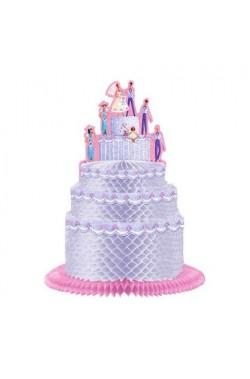 Festone centrotavola matrimonio torta degli sposi a soffietto 24cm