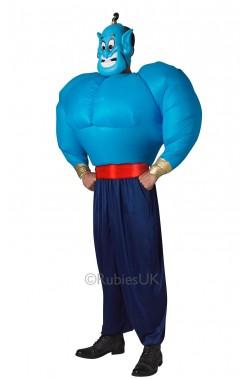 Costume Il Genio di Aladdin o Aladin, insomma: Aladino