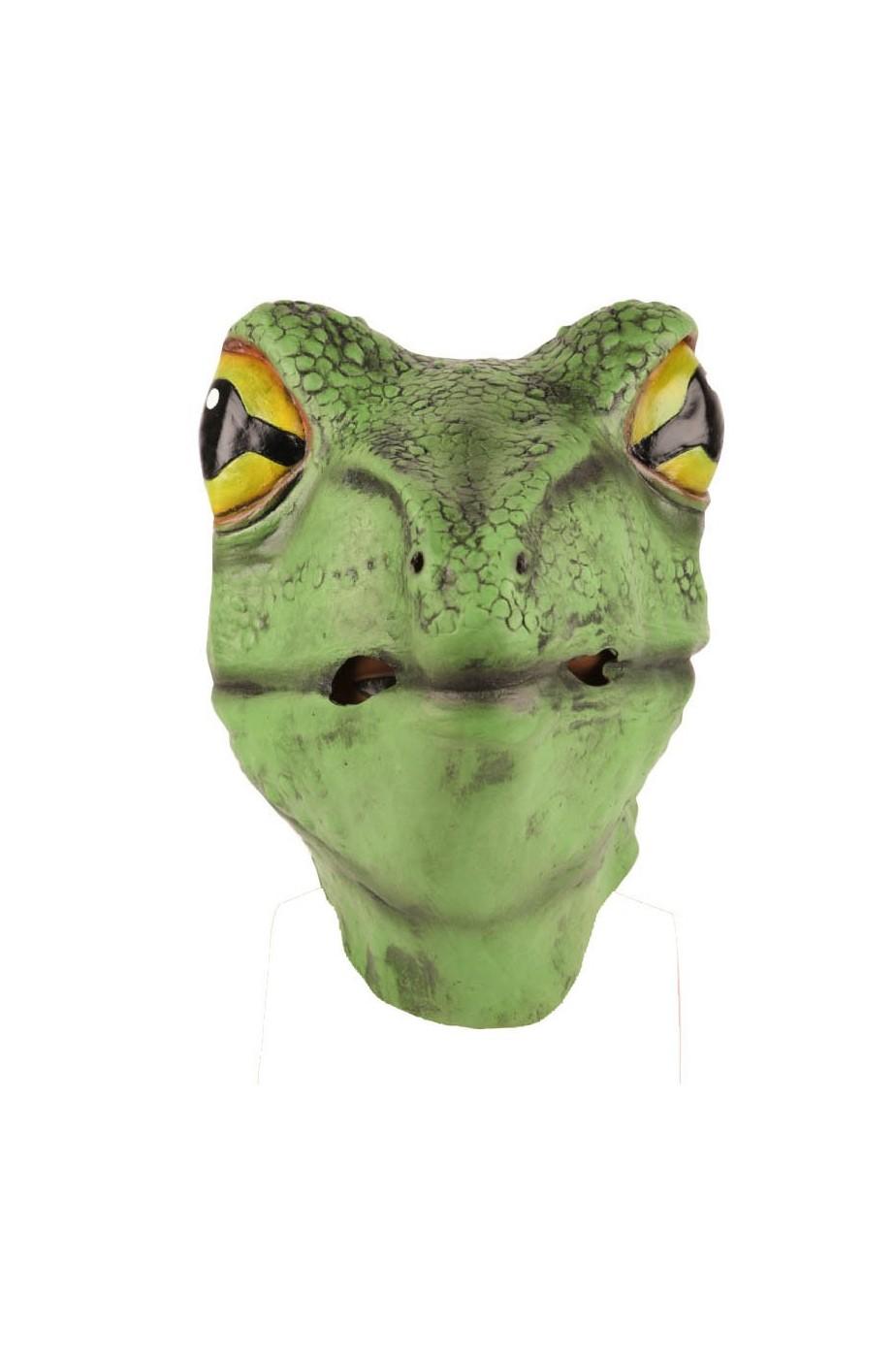 Maschera tartaruga testa intera in lattice