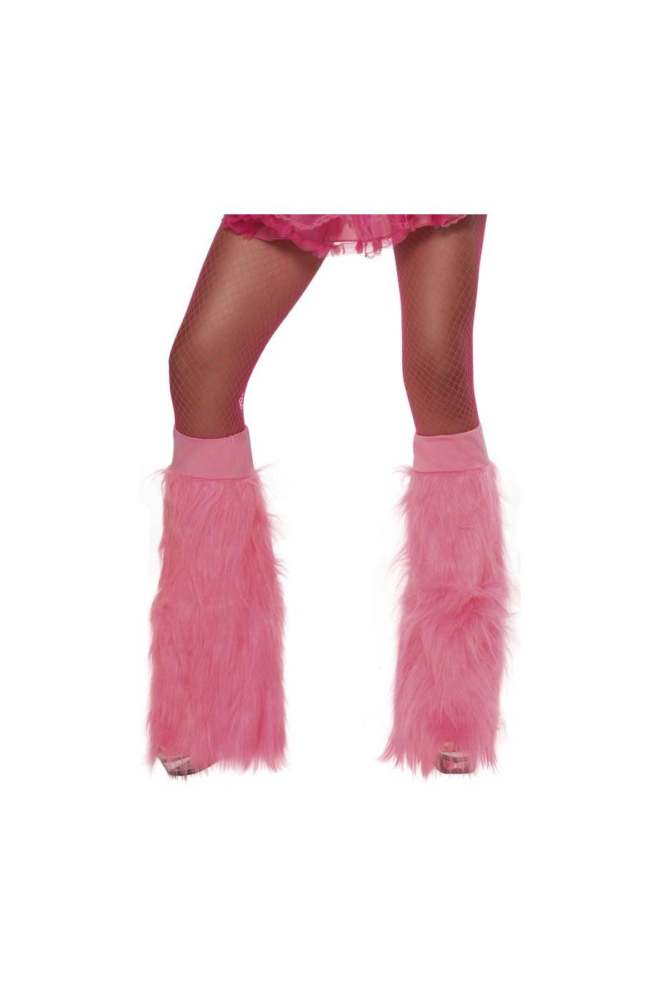 Copristivale a Zampa di elefante Fluo Neon Anni 70 rosa