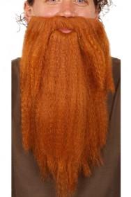 Trucco: Barba marrone mago o nano con elestico