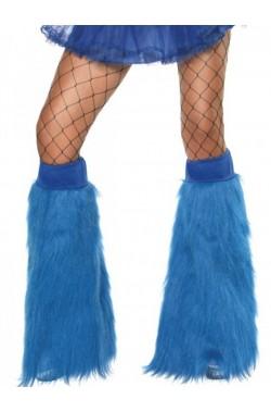 Copristivale a Zampa di elefante Fluo Neon Anni 70 blu