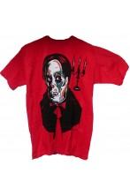 T-Shirt Halloween ideale per barman ed operatori di locali - Dracula. Taglia XL