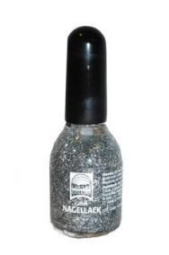 Smalto Brillantinato  Glitter Argento Grigio 15 ml