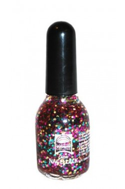 Smalto Brillantinato Glitter Multicolor 15 ml