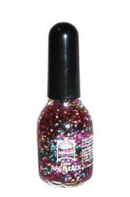 Smalto Brillantinato Glitter Multicolor 15 ml