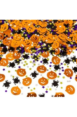 Coriandoli metallizzati arredo tavola Halloween