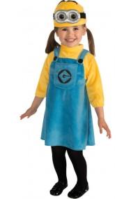 Costume bambina minion originale pixar