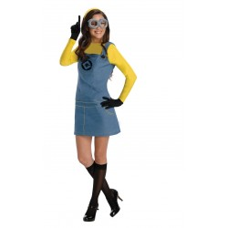 Costume minion donna originale pixar