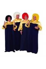 Gruppo costume adulto unisex gospel (4)