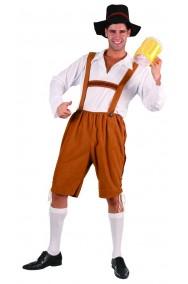 Costume bavarese tirolese adulto.