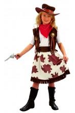 Costume carnevale Bambina Cowgirl
