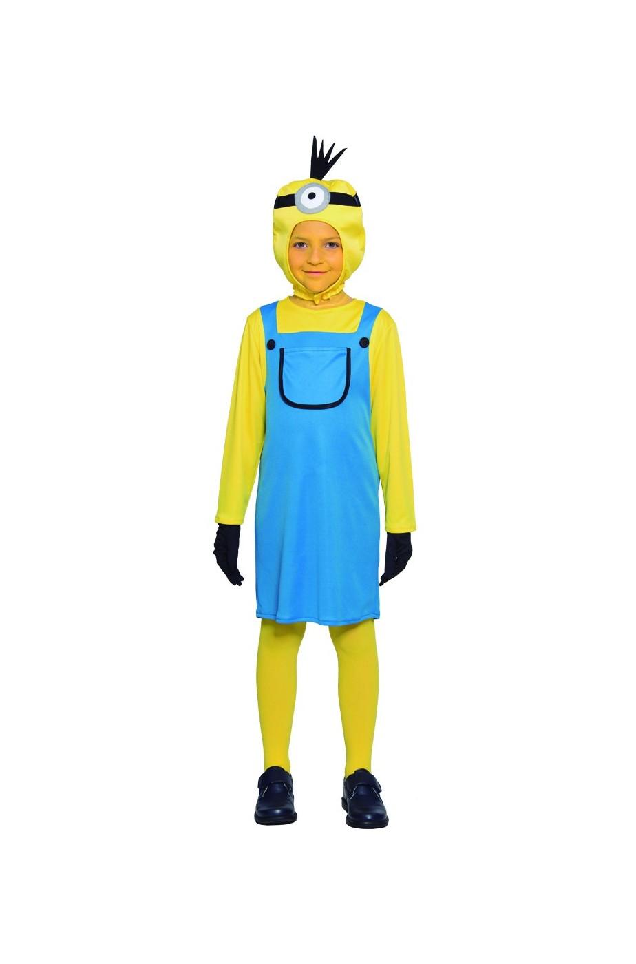 Costume bambina minion