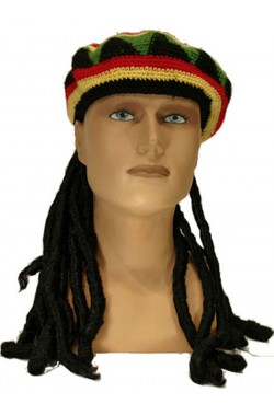 Cappello Giamaicano con Dreadlocks