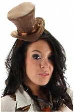 Cappello steampunk o vittoriano o 800 su cerchietto