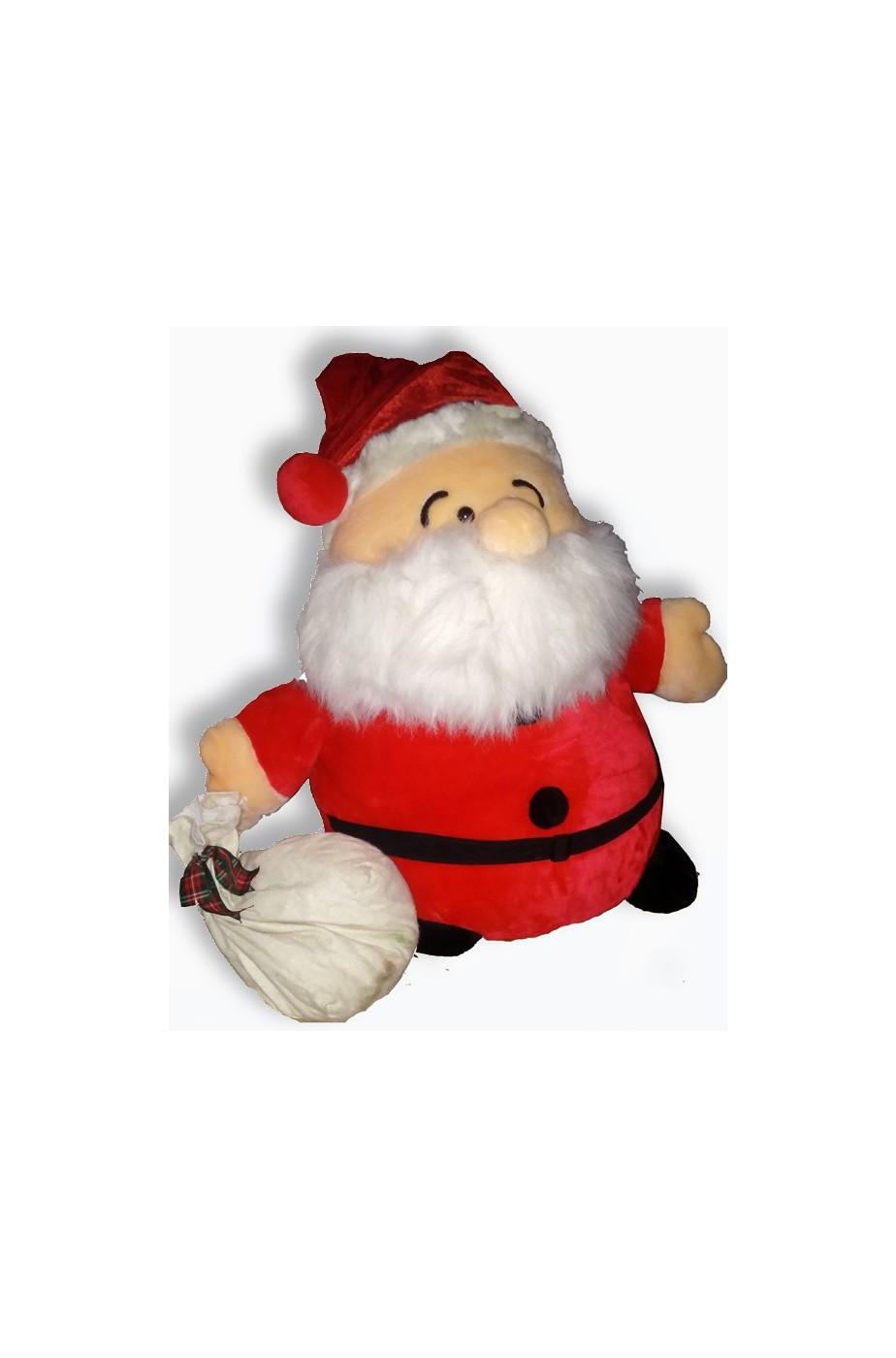 Babbo Natale in Pelouche alto ben 60cm