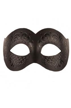 Maschera in Stile Veneziano uomo color argento