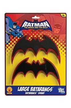 Batarangs in plastica morbida larghezza 18 cm circa (coppia)