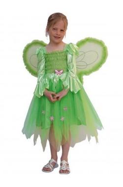 Costume carnevale bambina elfa trilli campanellino