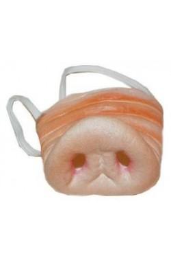 naso maiale con elastico