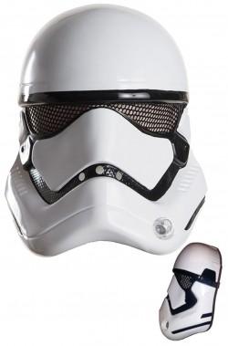Maschera nuovo Stormtrooper Star Wars ep.7 solo frontale